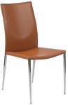 Max Side Chair in Cognac (Set of 2) [17224COG-FS-ERS]