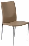 Max Side Chair in Tan [17224TAN-FS-ERS]