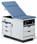 Maximum Value Exam Table with Side Drawers - 71''W X 71''L X 33''H [HAU-4423-FS-HAUS]