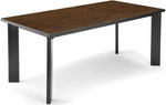 Library Conference Table 36'' D x 72'' W - Medium Oak [KLIB3672-EOAK-FS-MFO]