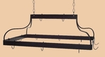 Mediterranean Series Pot Rack with 12 Hooks and Chain [MDR-FS-GCM]