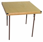 Caterer Elite Series Large Card Table with Non Marring Floor Glides - 36''W x 36''L x 30''H [224000-MES]