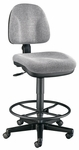 Premo Drafting Height Adjustable Ergonomic Chair - Gray [CH444-60DH-FS-ALV]