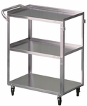 Medium / Heavy Duty Stainless Steel Cart [63500-FS-BRW]