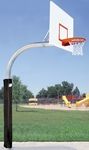 Mega Duty Steel Rectangle Playground Basketball System [PR77-BIS]