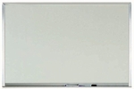 Melamine Marker Board with Aluminum Frame - 24''H x 36''W [WAC2436-AA]