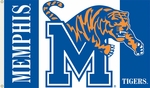 Memphis Tigers 3' X 5' Flag with Grommets [95044-FS-BSI]