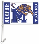 Memphis Tigers Car Flag with Wall Brackett [97044-FS-BSI]