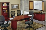 OSP Furniture Mendocino Hardwood Veneer Conference Suite [MEN-SUITE4-FS-OS]
