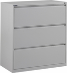 OSP Furniture Heavy Guage Steel 3 Drawer Lateral File [LF336-FS-OS]