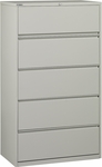 OSP Furniture Heavy Guage Steel 5 Drawer Lateral File [LF536-FS-OS]