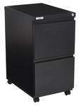 OSP Furniture Metal Filing File Pedestal with Casters and Lock [PTC22FF-FS-OS]