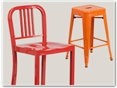 Metal Indoor & Outdoor Bar Stools