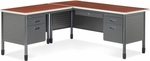 Mesa L-Shaped Desk with Left Pedestal Return - Cherry [66366L-CHY-MFO]