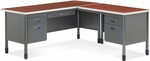 Mesa L-Shaped Desk with Right Pedestal Return - Cherry [66366R-CHY-MFO]