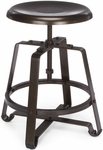 Endure Small Metal Stool - Dark Vein Seat and Legs [921-DVN-FS-MFO]