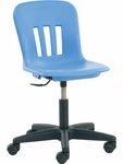 Metaphor Series Junior Keyboarder Task Chair with 13.75''-16.75'' Adjustable Seat Height [N9TASK16-VCO]