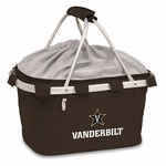 Metro Basket - Black- Vanderbilt University Embroidered [645-00-175-582-0-FS-PNT]