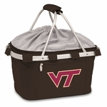 Metro Basket - Black- Virginia Tech Digital Print [645-00-175-604-0-FS-PNT]