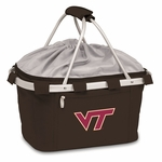 Metro Basket - Black- Virginia Tech Embroidered [645-00-175-602-0-FS-PNT]