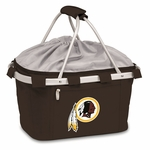 Metro Basket - Black Washington Redskins Digital Print [645-00-175-324-2-FS-PNT]