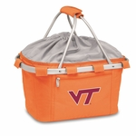 Metro Basket - Orange- Virginia Tech Digital Print [645-00-103-604-0-FS-PNT]