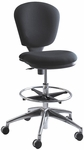 Metro™ 26'' W x 26'' D x 39'' H Extended Height Armless Task Chair - Black [3442BL-FS-SAF]
