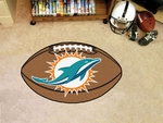 Miami Dolphins Football Mat 22'' x 35'' [5792-FS-FAN]
