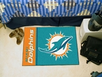 Miami Dolphins - Uniform Inspired Starter Rug,19'' x 30'' [8232-FS-FAN]