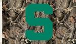 Michigan State Spartans 3' X 5' Flag with Grommets - Realtree Camo Background [95429-FS-BSI]