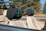 Michigan State Spartans Headrest Covers-Set of 2 [82029-FS-BSI]