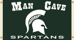 Michigan State Spartans Man Cave 3' X 5' Flag with 4 Grommets [95629-FS-BSI]