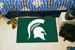 Michigan State University Starter Rug,19'' x 30'' [4535-FS-FAN]