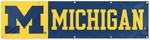 Michigan Wolverines Giant 8' x 2' Banner [BUM-FS-PAI]