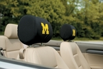 Michigan Wolverines Headrest Covers-Set of 2 [82003-FS-BSI]
