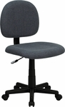 Low Back Ergonomic Gray Fabric Swivel Task Chair [BT-660-GY-GG]