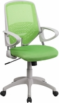 Mid-Back Green Mesh Swivel Task Chair [H-0549FX-GN-GG]