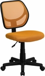 Orange Mesh Swivel Task Chair [WA-3074-OR-GG]