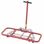 Mighty King™ 4000 Series Desk Lift with Red Vinyl Coating - 16''D x 32''D [4000-RPC]