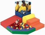 Mikayla's Mini Mountain with Ball Pit [CF321-938-FS-CHF]
