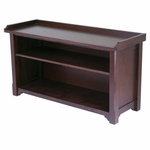 Milan Bench with Storage Shelf [94640-FS-WWT]