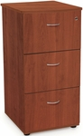 Milano Three Drawer File Cabinet with Lock - Cherry [55505-CHY-FS-MFO]