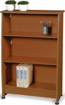 Milano Three Tier Bookcase - Cherry Finish [55125-CHY-FS-MFO]