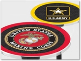 Military Logo Tables