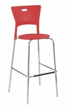 Mimi Barstool in Red - Set of 2 [BS-CF-MIMI-R2-FS-LUMI]