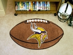 Minnesota Vikings Football Rug [5763-FS-FAN]
