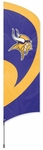 Minnesota Vikings Tall Team Flag w/ Pole [TTVI-FS-PAI]