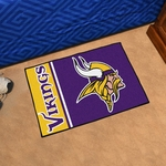 Minnesota Vikings - Uniform Inspired Starter Mat 19'' x 30'' [8248-FS-FAN]
