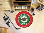 Minnesota Wild Puck Mat 27'' Diameter [10269-FS-FAN]