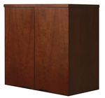 Mira 34.63 W x 24'' D x 38'' H Wardrobe Unit - Medium Cherry on Cherry Veneer [MWD3624MC-FS-MAY]
